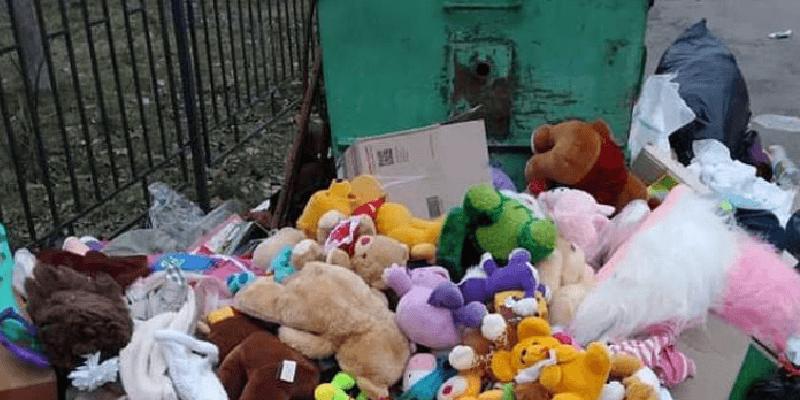 Шок!  Допомога від волонтерів – на смітник!